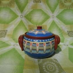 Big Clay Crock 1000ml Troyan Hand Made Ceramics