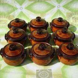 BIG CLAY CROCK 1000ml. - Troyan Ceramics
