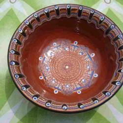 SALAD CUP Trojan Pattern Classic