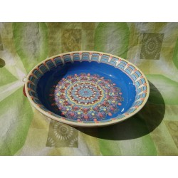 Baking tray classic pattern - blue color